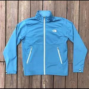 The North Face Jacket Blue Shell Full Zip Coat